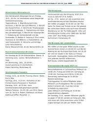 Vereinsnachrichten 120609.pub - Gemeinde Bisingen