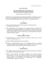 GutachterausschußGeb.Satz aktuell.pdf - Gemeinde Schluchsee
