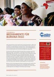 MEDIKAMENTE FÜR BURKINA FASO - Gemeinsam für Afrika