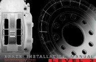 A4 Brake Installation Manual.indd - APR