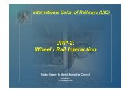 Wheel / Rail Interaction