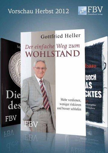 Vorschau Herbst 2012 - Vorschau - FinanzBuch Verlag