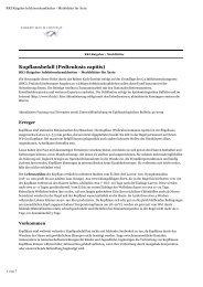Weiterführende Informationen des Robert-Koch-Instituts zum ...