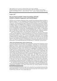 Die neue Partnerschaft für Afrikas Entwicklung (NEPAD): Kollektives ...