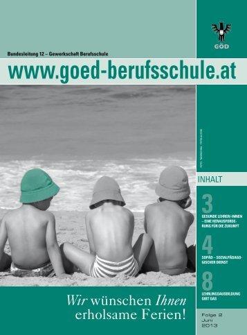 3Gesunde Lehrer/-innen - Bundessektion 12 Berufsschullehrer