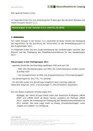 Releasenotes riskKV Grouper 3.2.1 - Gesundheitsforen Leipzig GmbH