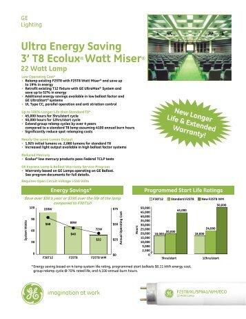 Download PDF - GE Lighting Asia Pacific  sc 1 st  Yumpu & T8 Ultra Energy Saving - Ecolux 28W - GE Lighting Asia Pacific