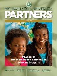 Winter 2013 - Giving to MSU - Michigan State University