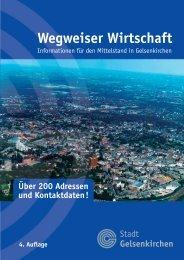 Wegweiser Wirtschaft - Stadt Gelsenkirchen