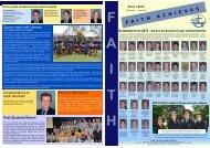 Term 1 2013 update 2 - Faith Lutheran College