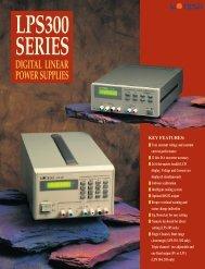DIGITAL LINEAR POWER SUPPLIES - Gigacomp