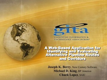 Presentation: A Web-Based Application for Identifying and ...