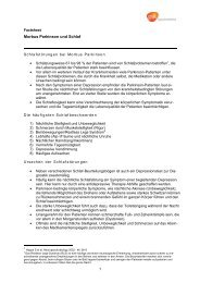 Morbus Parkinson und Schlaf - GlaxoSmithKline