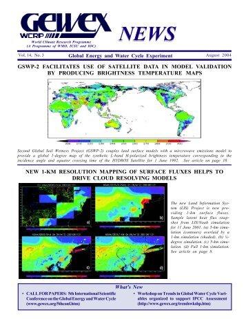 Ensemble Streamflow Forecasting in Snowmelt Dominate ... - GEWEX