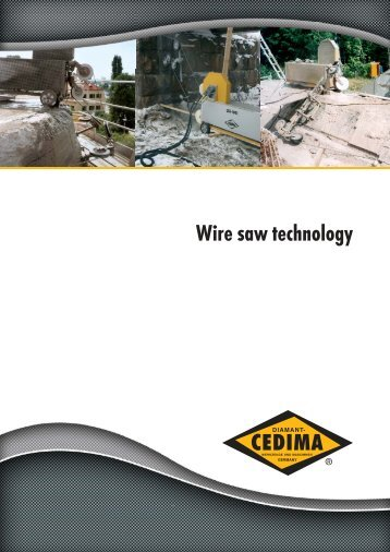 Wire saw technology