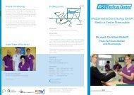 Praxisflyer - GLG Gesellschaft für Leben und Gesundheit mbH