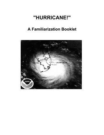 Hurricane Familiarization Booklet - Florida International University
