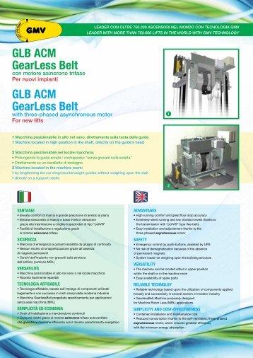GLB ACM GearLess Belt GLB ACM GearLess Belt - G.m.v.