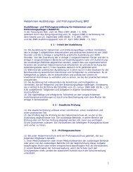 Hebammen-Ausbildungs- und Prüfungsordnung BRD - Geburtskanal