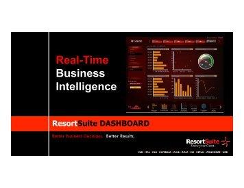 ResortSuite PowerPoint - Global Spa & Wellness Summit