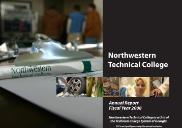 NTC Annual Report - Georgia Northwestern Technical College