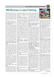 Wir im Frankenwald 16/2013 - Teil 2 - Gemeinde Geroldsgrün