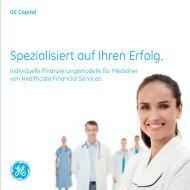 Modelle für Mediziner (PDF). - GE Capital Deutschland