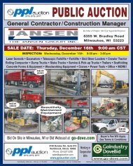 General Contractor/Construction Manager - GoIndustry DoveBid
