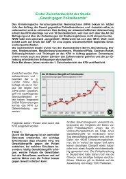 Erster Zwischenbericht der - (GdP) - Kreisgruppe Recklinghausen