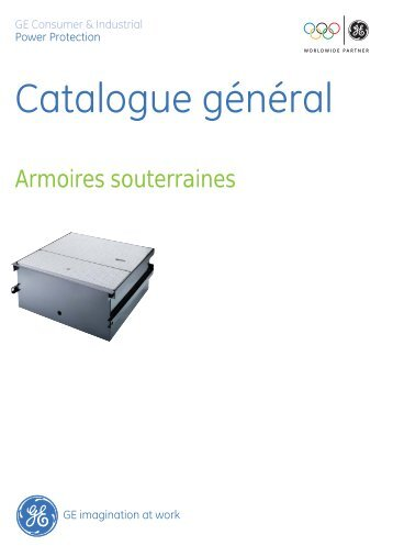Catalogue général - GE Industrial Solutions