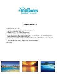 Download The Whitsundays Fact Sheet(*.pdf) - Global Spot