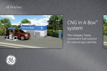 CNG In A Box? system - GE Energy