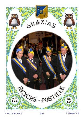 Reychspostille Nr.10 - Grazia