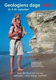 Geologiens Dage 2002 Folder - Geus