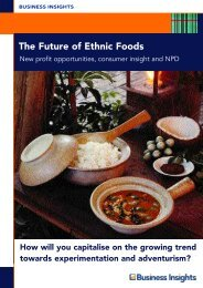 The Future of Ethnic Foods - Business Insights