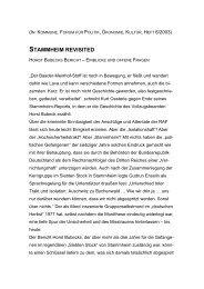 STAMMHEIM REVISITED - Gerd Koenen