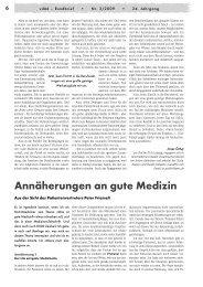Annäherungen an gute Medizin - Gesundheitsladen München