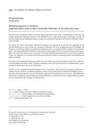Pressemitteilung 02.05.2013 Wettbewerbsgewinn in Hamburg gmp ...