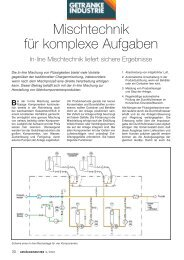 Mischtechnik für komplexe Aufgaben - GEA Diessel GmbH