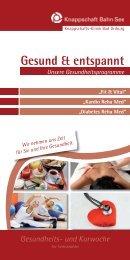 Gesund & entspannt - Gesundheitsreise.de