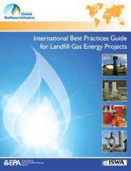 International Best Practices Guide for Landfill Gas Energy Projects