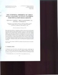 The temporal ordering of urban space and daily activity patterns for ...