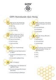 können Sie das Quiz als Kopiervorlage herunterladen! - Gepa