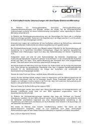 4. Kriminaltechnische Untersuchungen mit dem ... - GOETH GmbH