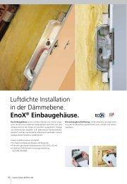 Luftdichte Elektroinstallation von Leuchten - Geht doch!