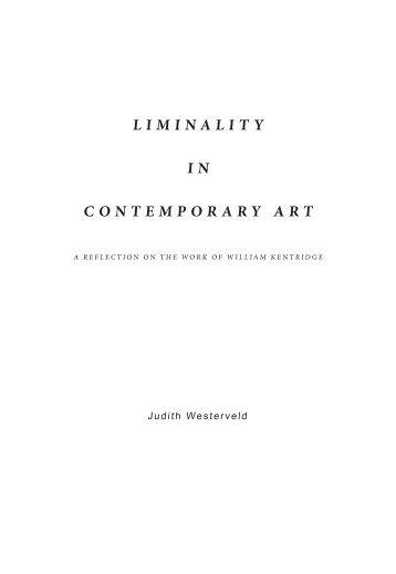 LIMINALITY I N CONTEMPORARY ART - Gerrit Rietveld Academie