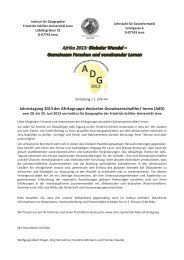 Jahrestagung 2013 der Afrikagruppe deutscher Geowissenschaftler ...