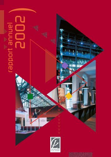 Rapport annuel 2002 - GL events