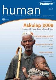 HUMAN Ausgabe 03/2008 - gesund-in-ooe.at