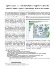 Implementation and evaluation of a Flow Map Demonstrator ... - DiVA